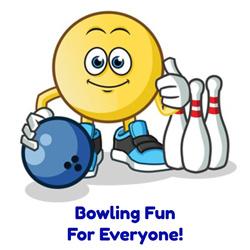 bowling fun graphic