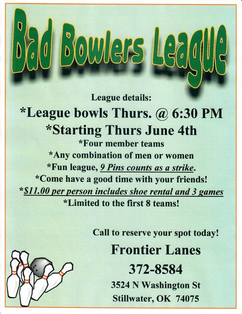 bad bowlers league